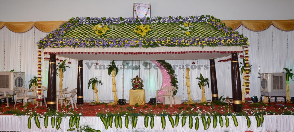 Vinayaka decorators for Auditorium stage decoration